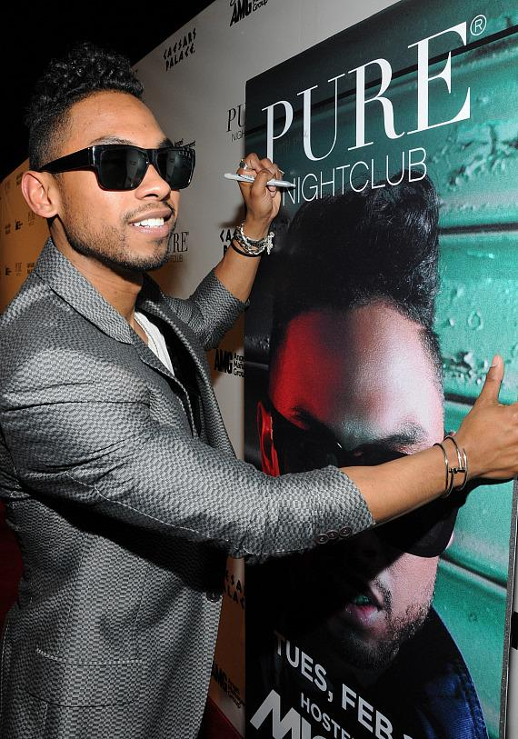 Miguel at PURE Nightclub