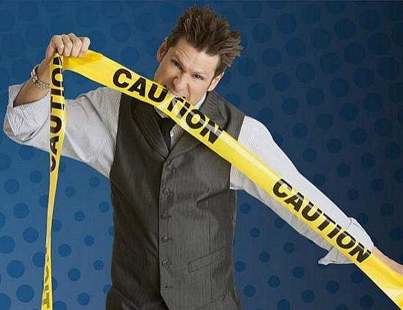 Comedy Magician and 4 Queens headliner Mike Hammer