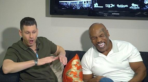 Mike Hammer with Mike Tyson on The Vegas Take