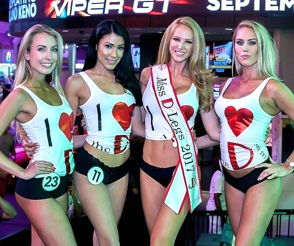 """The D Casino Hotel Las Vegas Hosts 3rd Annual """"Miss D Legs"""" Competition"""