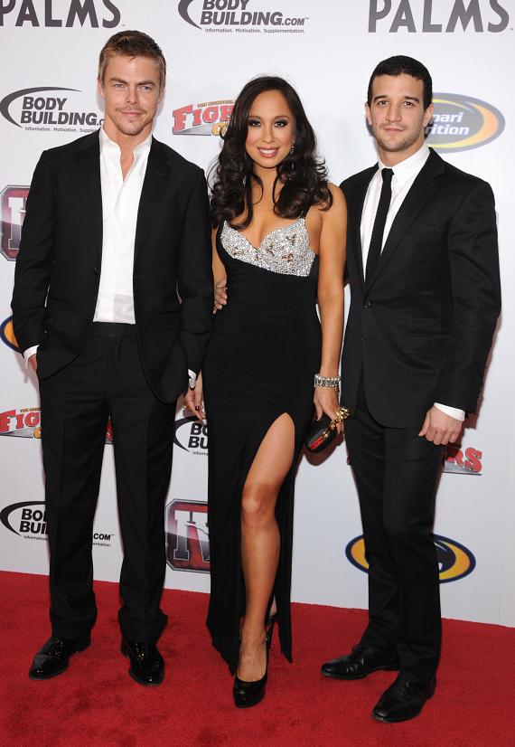 Dancing with the Stars Derek Hough, Cheryl Burke and Mark Ballas