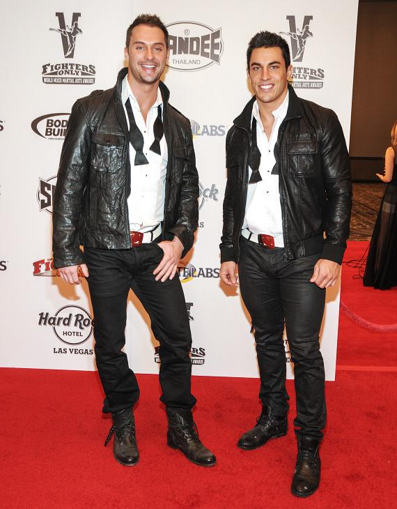 James Davis and Jon Howes of Chippendales