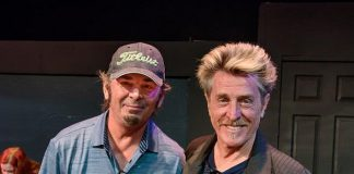 Journey Rock and Roll Hall of Famers Ross Valory and Jonathan Cain visit Las Vegas Academy of the Arts