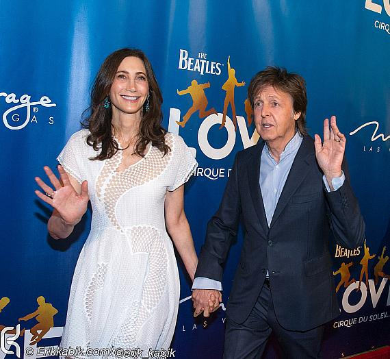 Sir Paul McCartney, Ringo Starr and More Help Celebrate 10th Anniversary of The Beatles Love by Cirque du Soleil at The Mirage Hotel & Casino