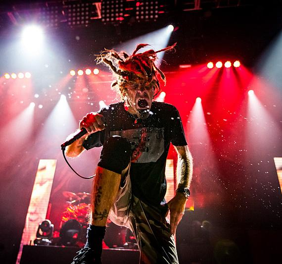 Lamb of God performs at Brooklyn Bowl Las Vegas