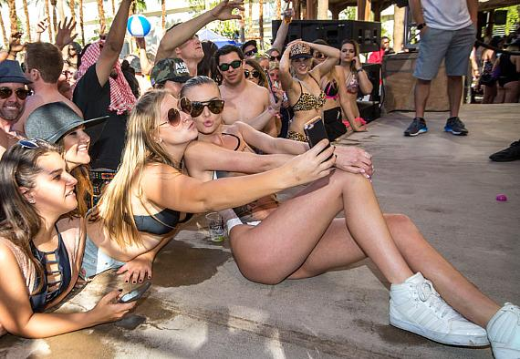 """Vanderpump Rules"" stars Lala Kent and James Kennedy take over REHAB Beach Club at Hard Rock Hotel & Casino Las Vegas"