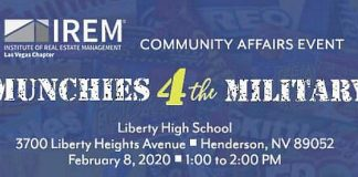 Institute of Real Estate Management (IREM 99 Las Vegas) Hosts Munchies 4 The Military