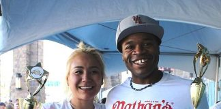 """Miki Sudo and Jeff """"The Beast Man"""" Butler"""