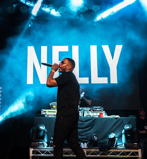 Nelly at Fremont Street Experience in Las Vegas