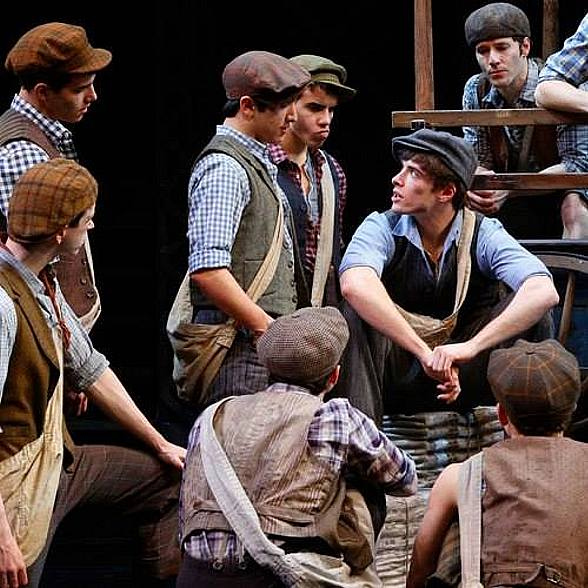 """Disney's Tony Award-Winning """"Newsies"""" to Hold Auditions for Male Dancers in Las Vegas Jan. 31 for Broadway and North American Tour"""