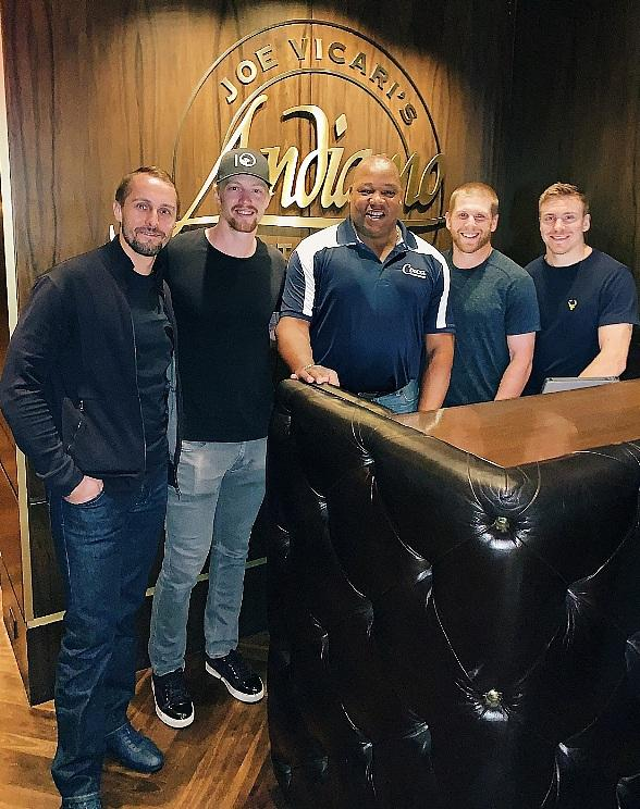 NHL Stars Spotted at the D Casino Hotel in Downtown Las Vegas