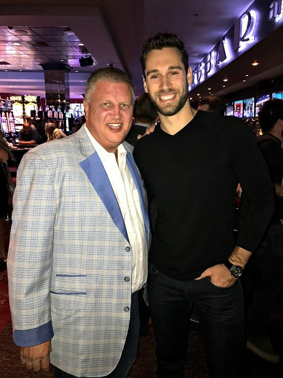 NHL Record Breaking Goalie dines at Andiamo Italian Steakhouse in Las Vegas