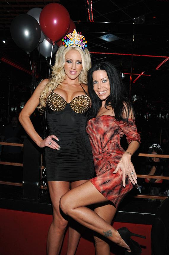 Nicolette Shea and Tabitha Stevens party at lavish VIP booth at Crazy Horse III