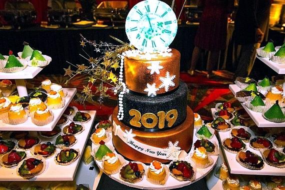 NYW 2019 Cake at the D Casino Hotel Las Vegas