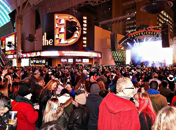 The D Las Vegas Rings in the New Year Like No Other