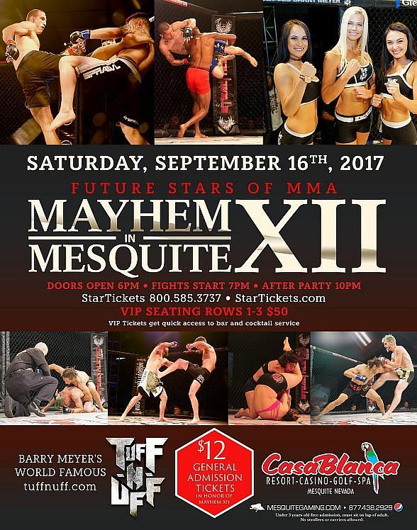 Mesquite Gaming and Tuff-N-Uff Host 12th Installment of