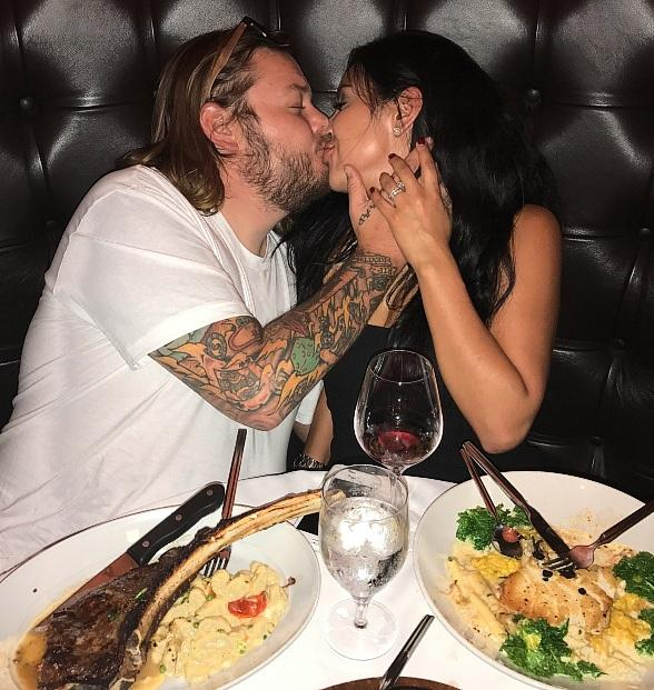 """""""Pawn Stars'"""" Corey Harrison Shares a Romantic Dinner With His Wife at Andiamo Las Vegas"""