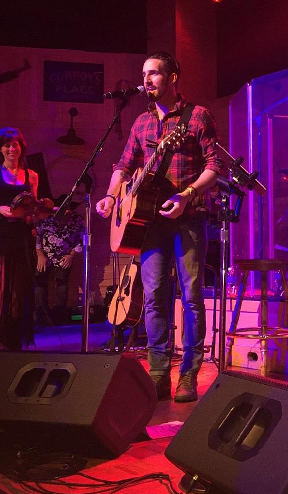 Country Music Superstar Jake Owen's Surprise Performance at Gilley's in Treasure Island Las Vegas