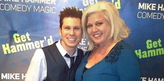 Magician Mike Hammer and Comedienne Penny Wiggins