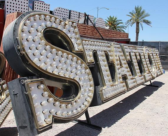 Neon Museum, Station Casinos Unveil Palace Station Signs in Museum's New Boulevard Gallery Space