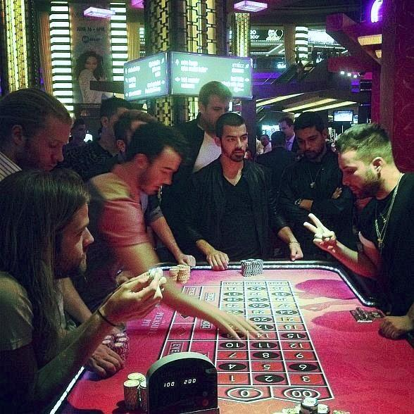 The Jonas Brothers Film Music Video at Planet Hollywood Resort & Casino