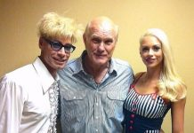 Murray and Chloe Visit Terry Bradshaw After His Show at The Mirage