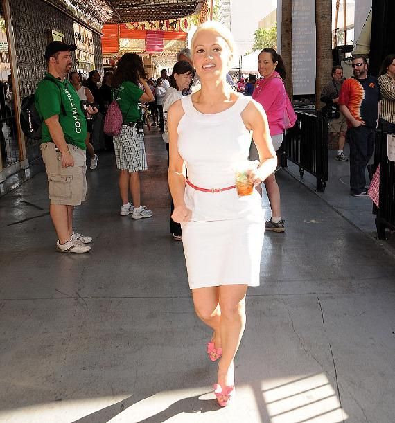 Holly Madison at Susan G. Komen Southern Nevada Race For The Cure in Las Vegas