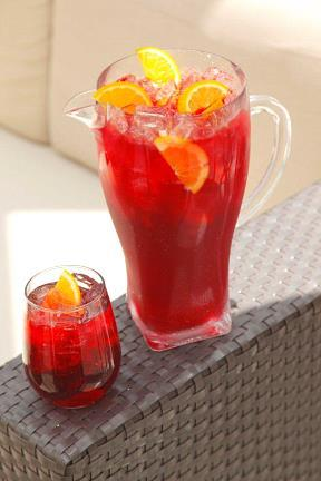 Pitcher red sangria