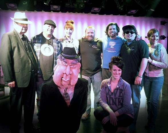 Rick Harrison and The Old Man Visit Rehearsals for PAWN SHOP LIVE! at Golden Nugget