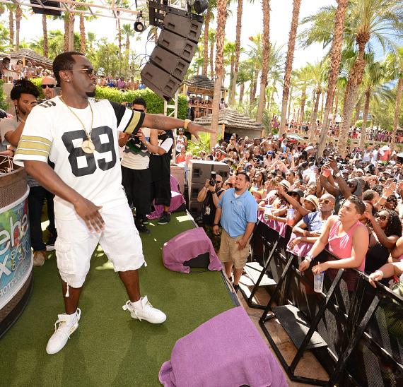 Puff Daddy Performs at REHAB at Hard Rock Hotel & Casino in Las Vegas