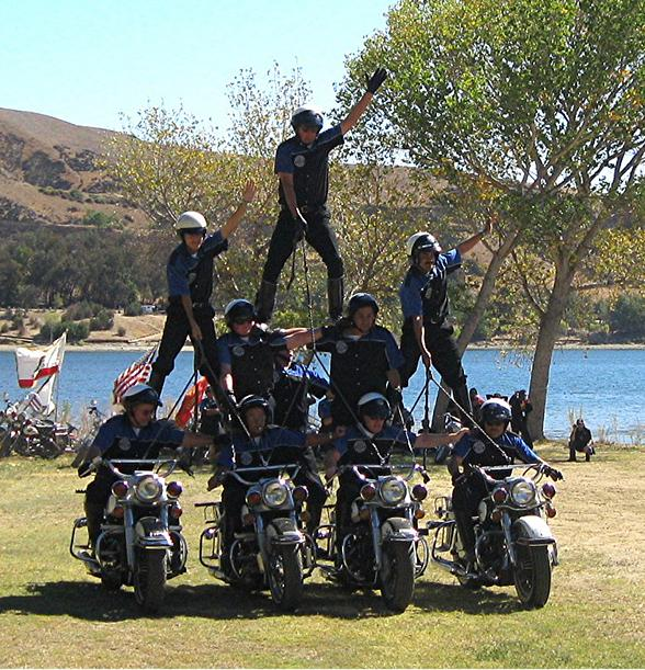 Victor McLaglen Motor Corps Drill and Stunt Team to Perform at Spring Mountains Run in Pahrump