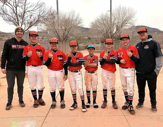 12 Year-Olds on Rawlings Tigers Baseball Team Break Records in Las Vegas