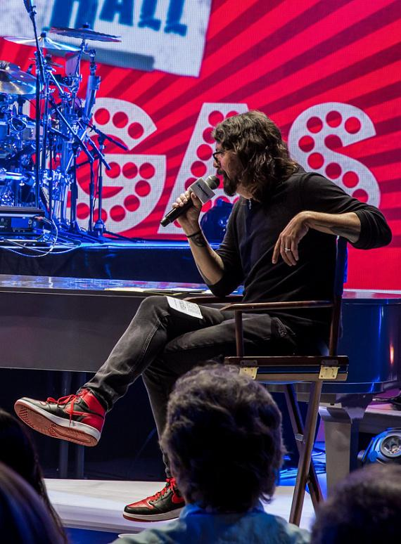 Dave Grohl at SiriusXM Town Hall Event