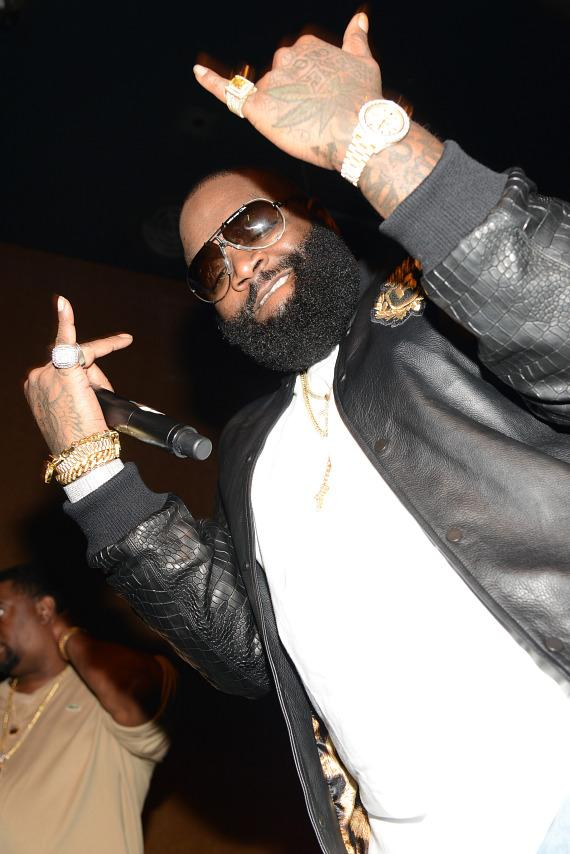 Rick Ross hosts NYE weekend party at Vanity Nightclub at Hard Rock Hotel Las Vegas