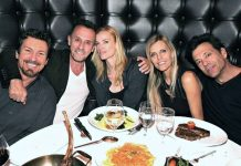 Prison Break's Robert Knepper Dines and Relaxes at the D Casino Hotel Las Vegas