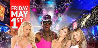 Celebrate Dennis Rodman's Birthday at Sapphire Las Vegas with Adult Stars Tasha Reign, Teagan Presley and HBO's Katie Morgan