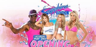 Party with NBA Hall of Famer Dennis Rodman with VIP Open Bar Access at Sapphire Pool & Day Club on May 2