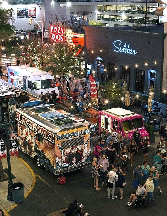 "Play games at ""Third Thursday on 3rd"" at the Downtown Grand Las Vegas Hotel & Casino"