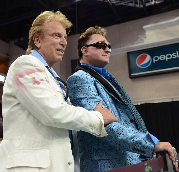 """Siegfreid and Roy at The Animal Foundation's 10th Annual """"Best In Show"""""""