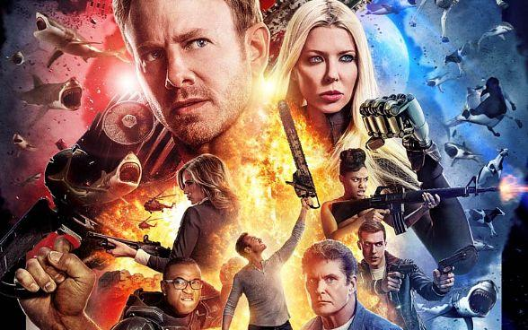 """Meet Ian Ziering, Tara Reid, Gary Busey and more at """"Sharknado: The 4th Awakens"""" Official Movie Premiere at The Stratosphere July 31"""