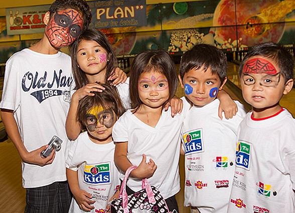 Kids from Cure 4 The Kids Foundation