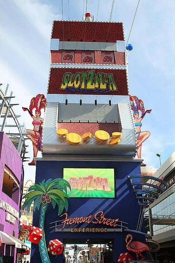 Fremont Street Experience to Start 2015 with SlotZilla Charity Challenge with Firefighters of Southern Nevada