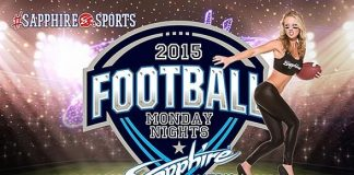 Sapphire hosts Baltimore Ravens vs. Arizona Cardinals Monday Night Football with $1 Halftime Dances Oct. 26
