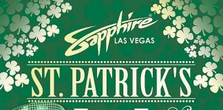 Spend St. Patrick's Day with Sapphire Las Vegas Gentlemen's Club