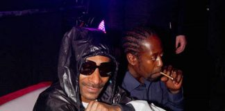 Snoop Dogg Parties at Crown Nightclub at the Rio