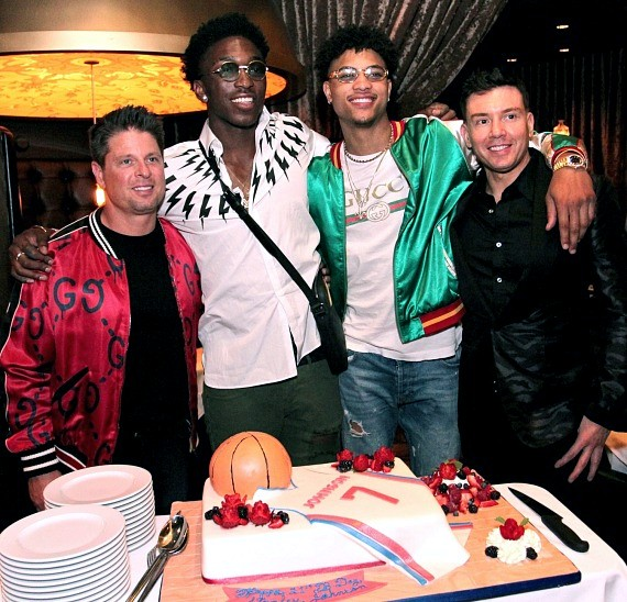 The Detroit Pistons' Stanley Johnson Celebrates 21st Birthday