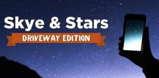 Skye & Stars (Driveway Edition) on World Astronomy Day Saturday, May 2, 2020