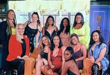 Sydel Curry-Lee Celebrates 25th Birthday with a Girls' Night Out in Downtown Las Vegas