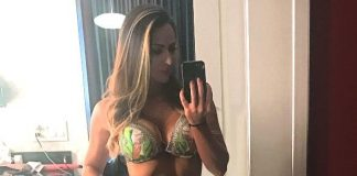 Famous Lady of WWE, Emma, spends Vegas Vacation at the D Las Vegas and Encore Beach Club