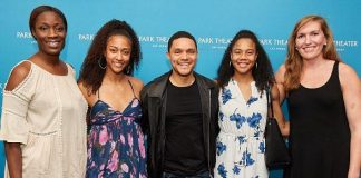 """The Daily Show"" Host Trevor Noah Meets with WNBA Team, Las Vegas Aces"